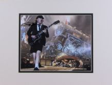 Angus Young Autograph Signed Photo - AC/DC